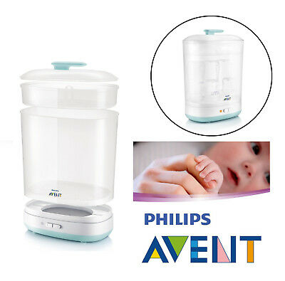 Philips Avent Baby Bottles Electric Steam Steriliser 2-in-1 Fits 6 Bottles