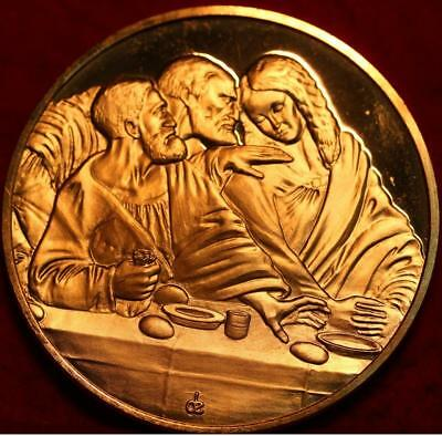 Uncirculated 2.3oz Sterling Silver Medal The Last Supper