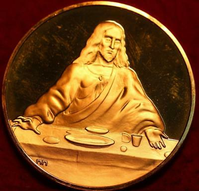 Uncirculated 2.3oz Sterling Silver Medal Christ-The Last Supper