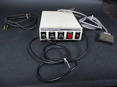 Solid State Systems Model 100 Dental Ultrasonic Scaler System for Prophylaxis