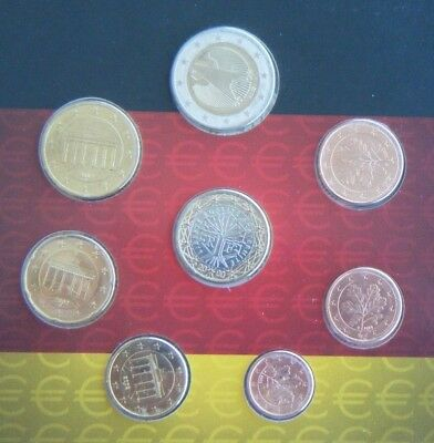 2008 Euro Coin Set - Euro Kursmunzensatz Deutchsland - GERMANY