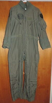 Mens 40S Flyers Summer Coveralls Fire Resistant Cwu-27/p Sage Green