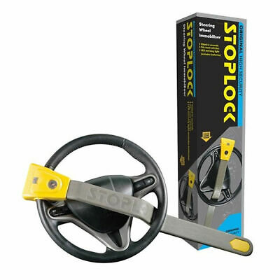 Stoplock Original Steering Wheel Security Immobiliser Lock Anti Theft With LED