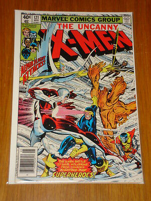 X-Men Uncanny #121 Marvel Comic May 1979 Nm (9.4) *