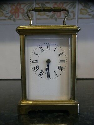 Antique French Brass Cased Carriage Clock