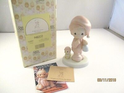 """1993 Precious Moments """"A Special Chime For Jesus"""" by Enesco 524468"""