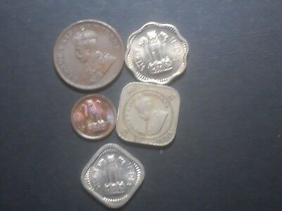 3833   - India    - Five Coins