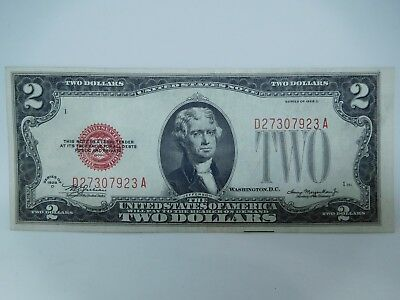 1928 D US $2 Small Size United States Note Uncirculated