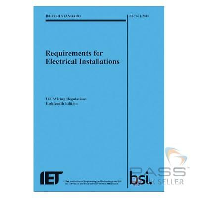 IET Wiring Regulations 18th Edition: BS 7671:2018 Requirements *NEW 2018*