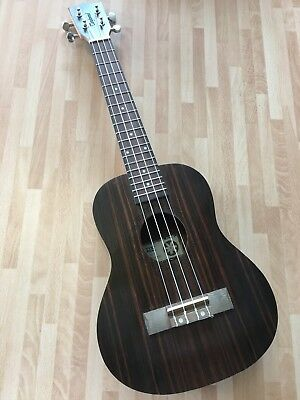 RRP £109 Tenor Acoustic Model Ukulele in Ebony with Arched back! 4 string