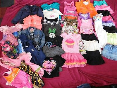 38- piece Girls' Size 6 Clothes Mixed Lot Place Justice Gymboree Speedo
