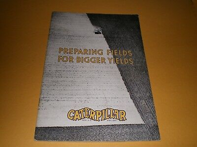 Original 1930 Caterpillar Tractor Brochure Booklet 5 Sizes 10 20 15 30 and 60