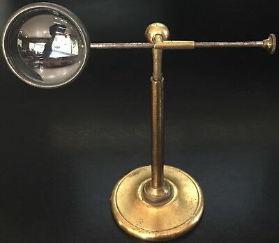 "1 3/8"" Bull's Eye Condensing Lens on Detachable Brass Stand"