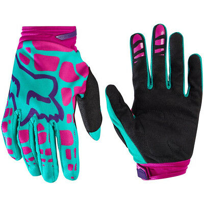 Fox Racing Womens Wmn Dirtpaw Motocross Mx Bike Gloves Adult - Purple / Pink