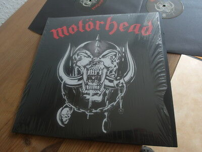 Motörhead ‎– Motörhead  Same DLP in Mint 180 gr in Shrink
