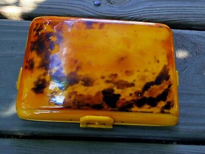 Art Deco Period Antique Faux Tortoise Shell Purse STUNNING!!!!