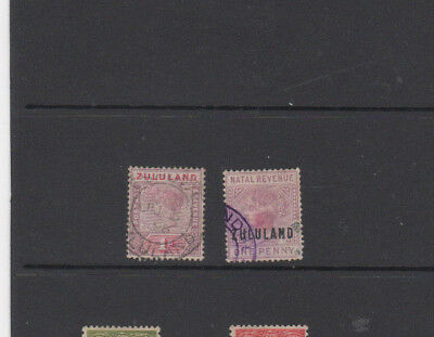 2 Nice old Zululand issues with Hard to Find Revenue