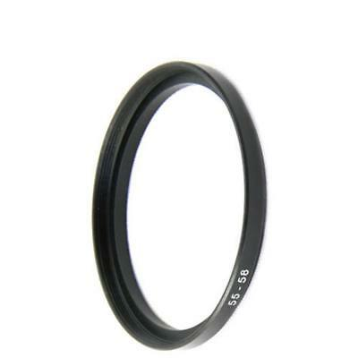 55-58mm Anillo Adaptador Step-Up Adapter Ring Nuevo