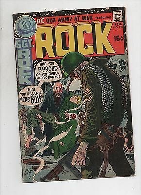 DC Comics    Our Army At War #228    Solid VG   Sgt Rock