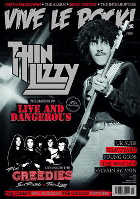VIVE LE ROCK MAGAZINE ISSUE 55 (THIN LIZZY, THE ALARM, SHANE MacGOWAN, UK SUBS)