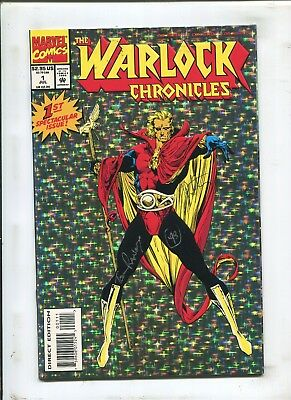 Warlock Chronicles #1 - Signed By Jim Starlin & Tom Raney! - (9.2) 1993