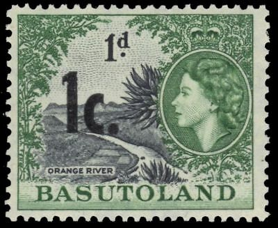 "BASUTOLAND 62 (SG59) - Queen Elizabeth II ""Orange River"" (pa77436)"
