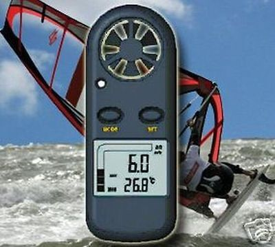 Windsnelheidsmeter Anemometer Kite Kitesurf Wind Be* Wm1