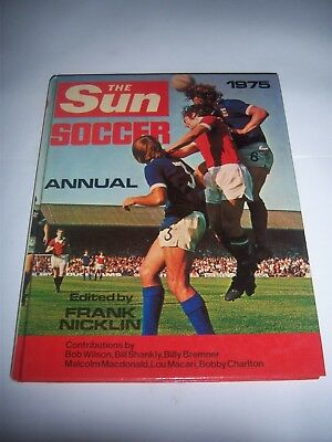 The Sun Soccer Annual 1975 - #4 - Ipswich Town / Liverpool - Football Book