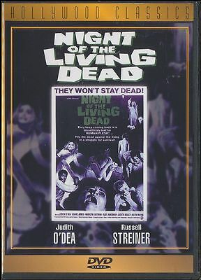Night of the Living Dead (DVD, 1998, Hollywood Classics) George A. Romero