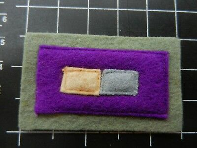 WW2 Colour patch Original as pictured.