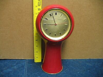 Vintage Secticon Clock Retro Mod Not Running For Parts Or Restore