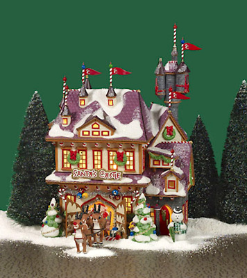 Dept 56 North Pole Village - Santa's Castle 56768 Rudolph - Limited Edition New