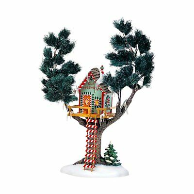 Dept 56 North Pole Village - Elf Treehouse 56446 Retired 2000 New In Box
