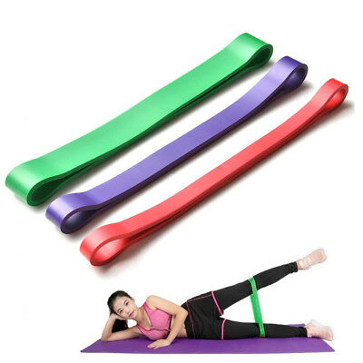 1/3 Set Heavy Duty Resistance Band Loop Exercise Yoga Workout Power Gym Fitness