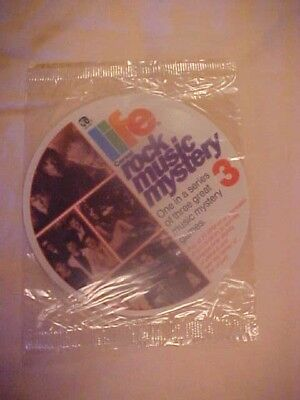 Vintage 1986 Life Cereal Quaker Oats Rock Music Mystery Record #3 MIP