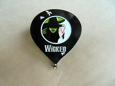 Wicked Musical Theatrical Production Witch Hot Air Balloon Enamel Pin