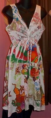 Summer HouseDress Tattoo Tattoo By Free Spirit Size Large Bust 36 PEACE & LOVE