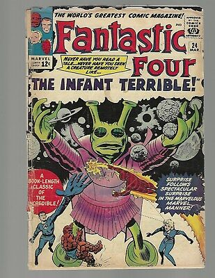 Fantastic Four #24 The Infant Terrible
