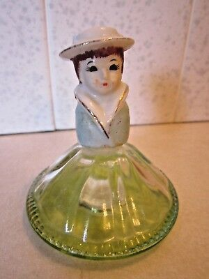 vintage figural perfume bottle made in Japan
