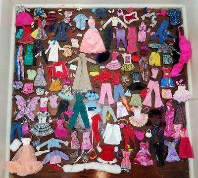Barbie Doll Clothes, Shoes, Purses, Jewelry, Accessories Lot