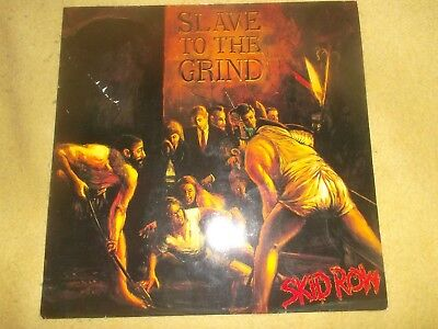 Skid Row ‎– Slave To The Grind Vinyl, LP, Album  Heavy Metal 1991
