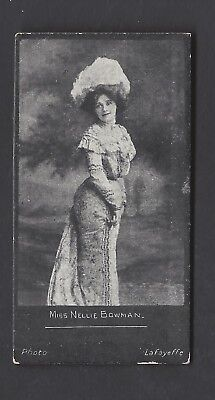 """Bell - Actresses """"hagg"""" - Miss Nellie Bowman"""