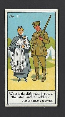Sinclair - Picture Puzzles & Riddles Series - #11 The Infant And The Soldier