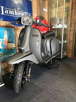 Royal Alloy scooter at Wildcat Scooters GT125 Graphite Grey Colour in stock