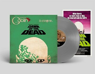 Claudio Simonetti's GOBLIN Dawn of the Dead LIMITED LP GREY VINYL 2018
