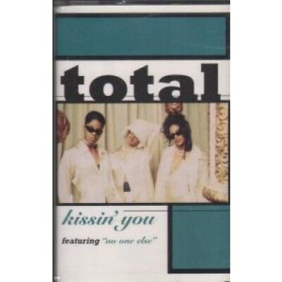 TOTAL Kissin You CASSETTE Europe Arista 1996 2 Track Radio Edit B/W No One Else