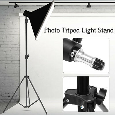 2.6M Photo Light Stand Tripod Studio Flash Speedlight Holder Bracket Lighting Ki