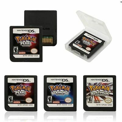 New 3DS  NDS DSI Pokemon Platinum Pearl Diamond Version Game Card For Nintendo