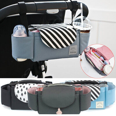 Universal Baby Stroller Organizer Pram Diaper Toy Storage Bag Buggy Travel Gift