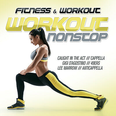 Motivation CD Fitness & Workout: Workout Nonstop von Various Artists 2CDs